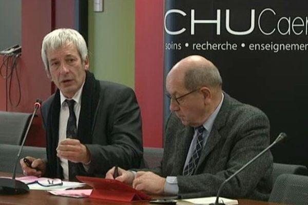 Angel Piquemal, directeur du CHU de Caen