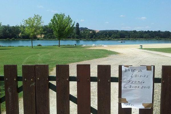 La base de loisirs de Castéra-Verduzan a été fermée après le drame.