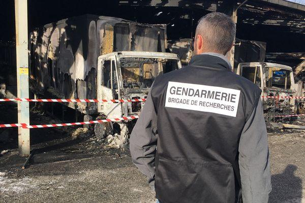 Un incendie volontaire a ravagé un local d'Enedis à Seyssinet-Pariset (Isère), lundi.