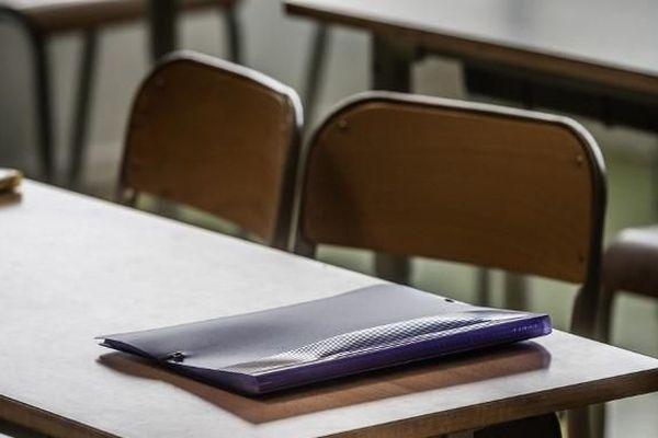 Une classe d'une école primaire de Sèvres (Hauts-de-Seine), le 4 septembre 2020
