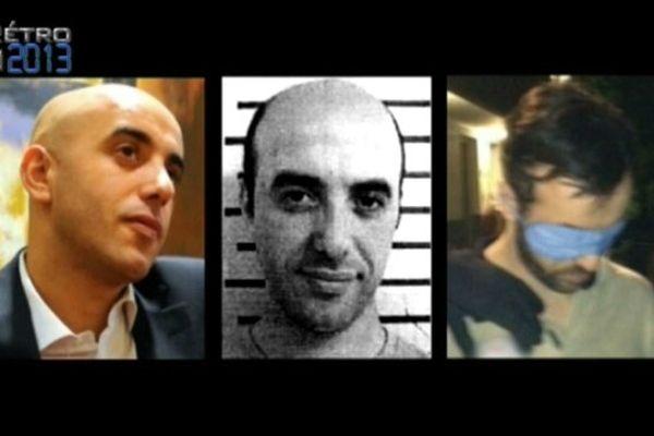 Redoine Faïd, la dernière photo est prise lors de son arrestation dans le Val de Marne le 29 mai. Il avait laissé pousser la barbe et portait une perruque.
