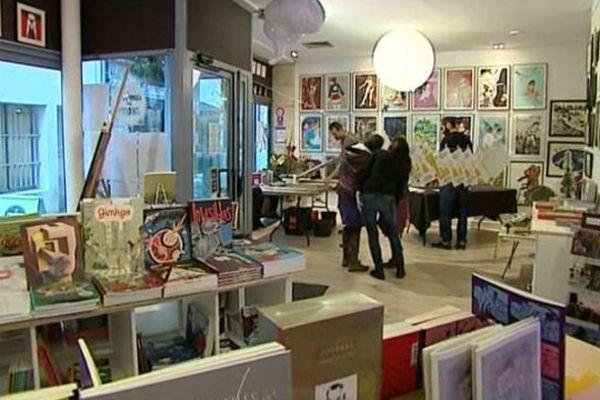 Le Comptoir des images à Angoulême