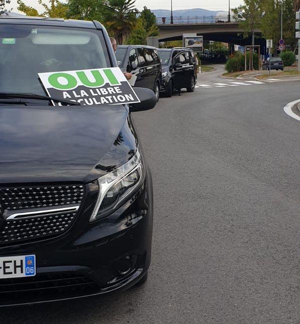 Les VTC français demandent la libre circulation en principauté de Monaco.