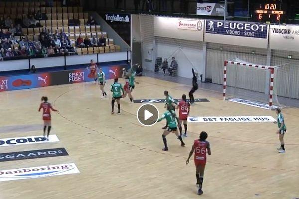 Viborg-Besançon en  Coupe d'Europe de Handball féminin
