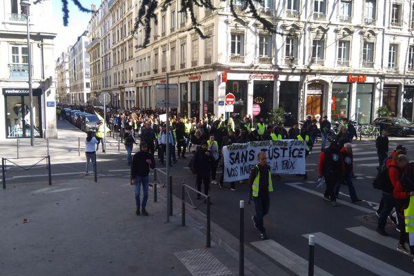 Marche contre les violences policière, Lyon, le 16 Mars 2019