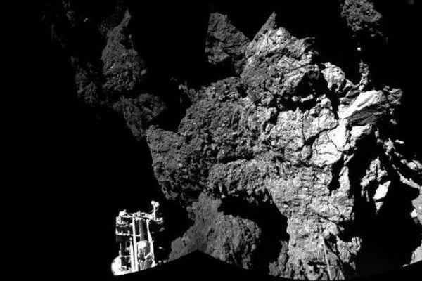 Photo de la comète prise par Rosetta