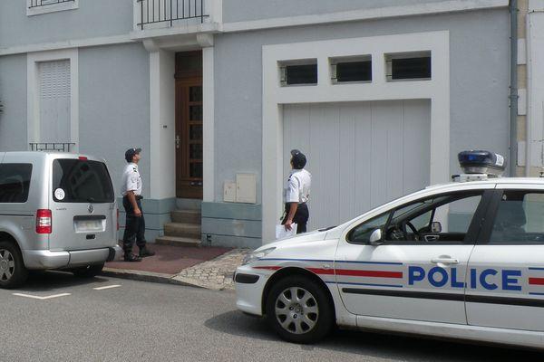 Illustration : opération tranquillité vacances de la Police Nationale sur Limoges.