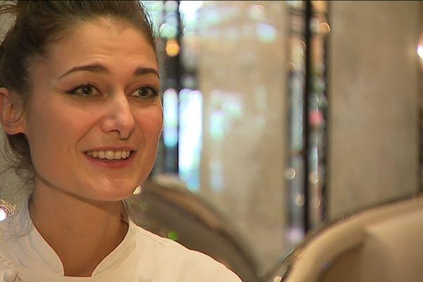 """A seulement 32 ans , la Landaise Jessica Préalpato, vient d'être élue """"meilleure pâtissière du monde"""" mardi par le World's 50 Best Restaurants."""