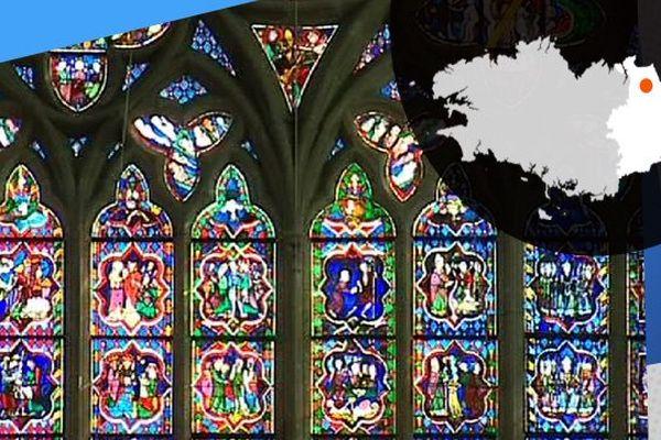 Les vitraux de la cathédrale de Dol-de-Bretagne