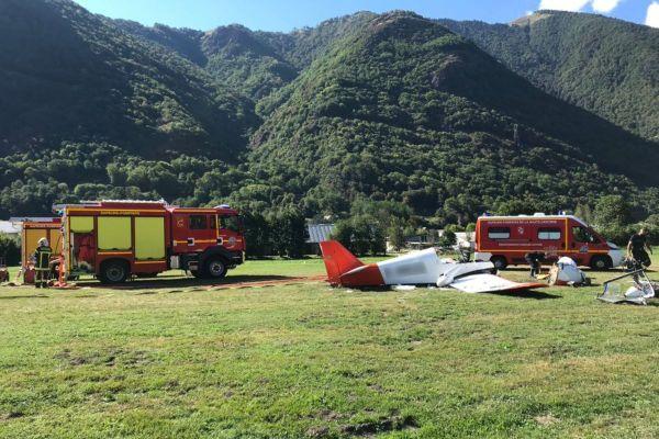 La victime blessée grave a été désincarcérée et évacuée par l'hélicoptère du SAMU vers le l'hôpital de Purpan.