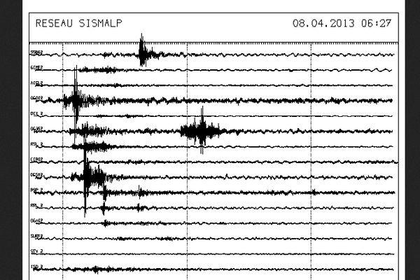 La terre a de nouveau tremblé ce matin en Haute- Savoie