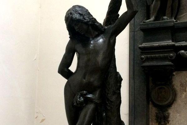 La sculpture d'Alfred-Charles Lenoir va être restaurée avant de réintégrer le musée de La Roche-sur-Yon