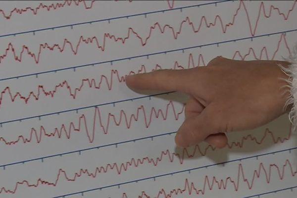 Au laboratoire Géoazur de Sophia-Antipolis, des chercheurs analysent les données recuellies après le séisme qui s'est produit dans la Drôme le 11 novembre 2019.