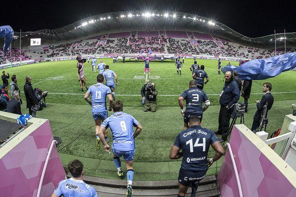 Le match de Challenge européen entre le Stade français et le London Irish, au stade Jean-Bouin, le 21 octobre 2017.