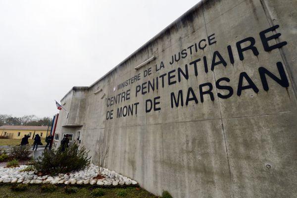 Photo d'illustration. Le centre pénitentiaire de Mont-de-Marsan, photographié en 2015.