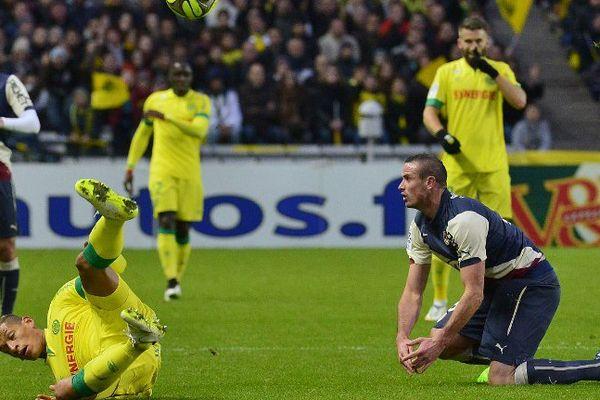 Nantes - Bordeaux lors de la rencontre en décembre.