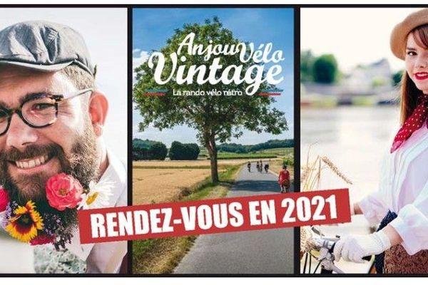L'édition 2020 de l'Anjou Vélo Vintage est annulée