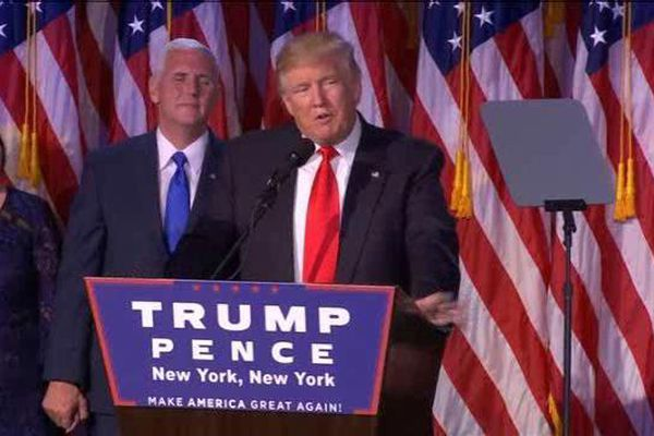Donald Trump sera le 45ème président des Etats-Unis d'Amérique