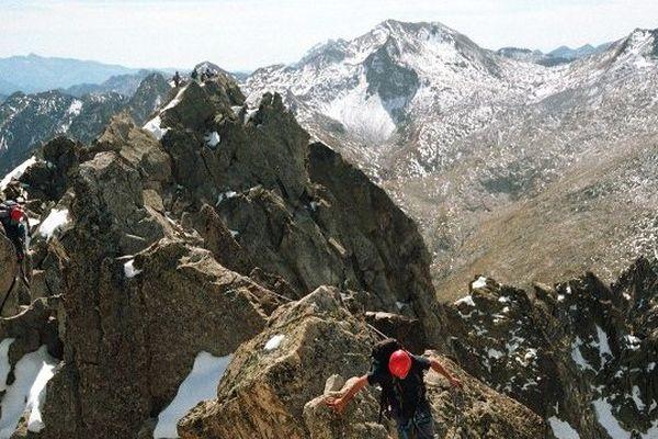 C'est ici dans le massif du Néouvielle (65) que s'est produit l'accident