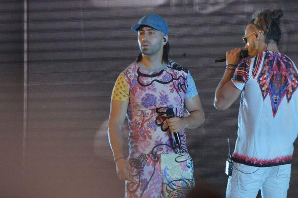 Le duo PNL sur la scène des Eurockéennes en 2017. En 2021, ils seront au festival Beauregard