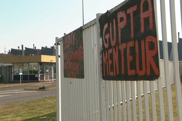 Le 15 avril 2021, le message des salariés des fonderies à Sanjeev Gupta, qui a racheté l'usine en 2019.