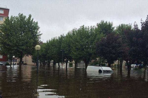 Rambouillet dans les Yvelines fait partie des communes touchées par les inondations
