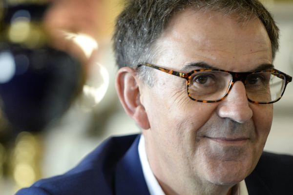 David Kimelfeld, président de la Métropole de Lyon. Photo d'illustration