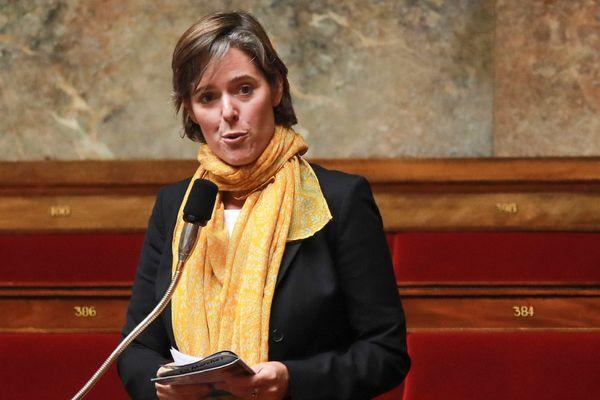 Cendra Motin, députée de la 6e circonscription de l'Isère et vice-présidente de l'Assemblée nationale.