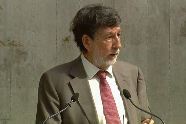 Alain Anziani a été élu à une immense majorité à la tête de Bordeaux Métropole