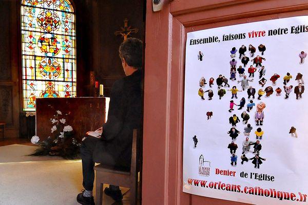 Une campagne pour le denier du culte, à Orléans (Archives, 2011)
