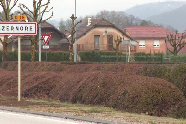 La commune d'Izernore, dans l'Ain, siège de la société Apnyl.