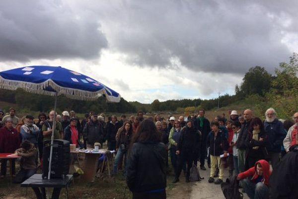 Hommage à Rémi Fraisse à Sivens ce dimanche 22 octobre