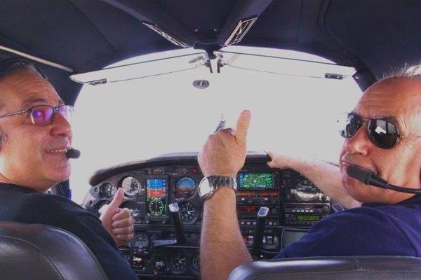Des vols découvertes sont offerts par les pilotes de l'aérodrome de Meaux-Esbly