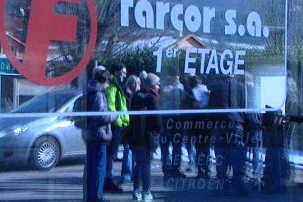 L'usine Farcor est implantée à Lumbin depuis près de 40 ans entre Grenoble et Chambéry.