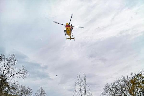 Le sauvetage a eu lieu à Amélie-les-Bains, mardi 2 décembre 2020.