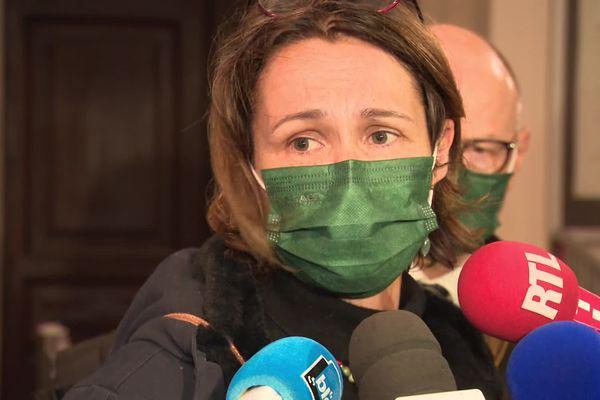 La mère d'Arthur Noyer, Cécile, au procès de Nordahl Lelandais.