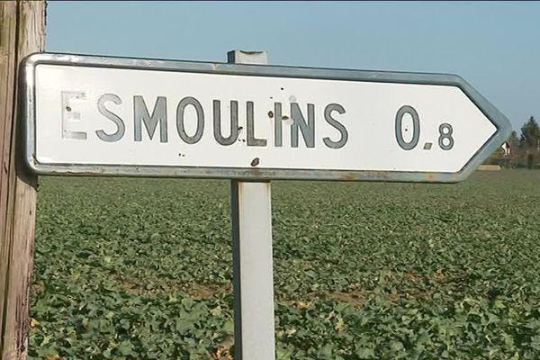 C'est à Esmoulins que le corps d'Alexia Daval a été retrouvé il y a deux mois et demi, ainsi que celui d'un père de famille le 6 janvier.