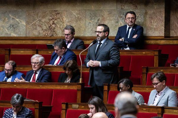 Le député du Cher François Cormier-Bouligeon à l'Assemblée nationale.