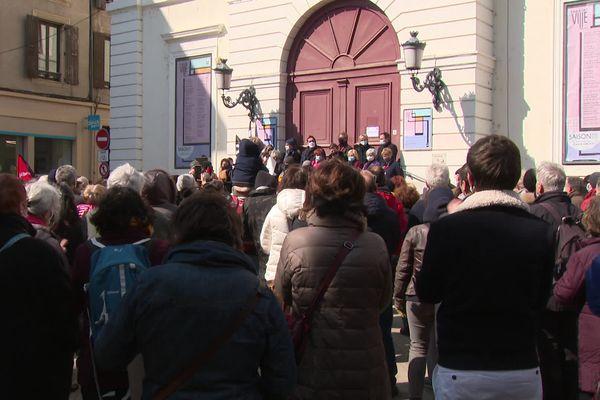 Valence : ils demandent la réouverture des lieux de culture