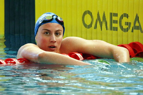 Charlotte Bonnet (ONN) a signé le meilleur temps des séries du 100 m brasse.