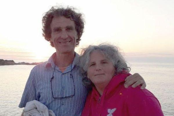 Irène Latapie et son mari, deux morbihannais atteints par la maladie de Lyme