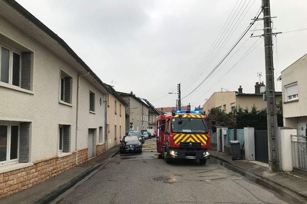 Vaulx-en-Velin : incendie dans un bâtiment occupé par une société industrielle. Un bureau d'études a brûlé - 5/1/21