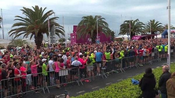 Départ des coureurs du semi-marathon ce dimanche à la Grande Motte