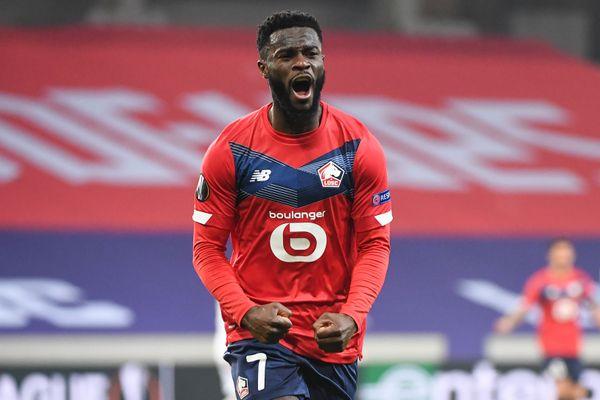 Bamba a permis au LOSC de revenir au score et d'accrocher le match nul face à l'AC Milan en Ligue Europa.