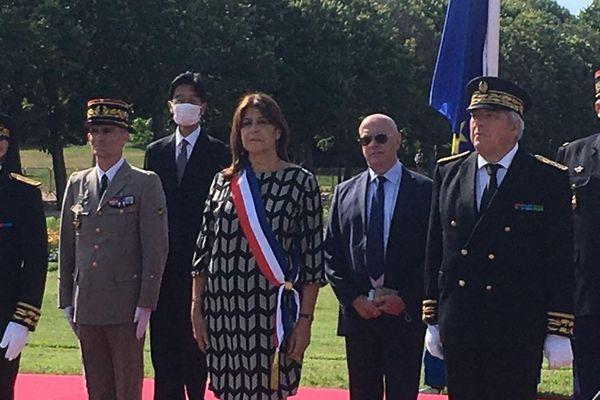 C'est la première sortie officielle de Michèle Rubirola, Maire de Marseille.