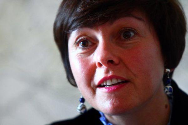 Carole Delga, présidente de la région Languedoc-Roussillon-Midi-Pyrénées