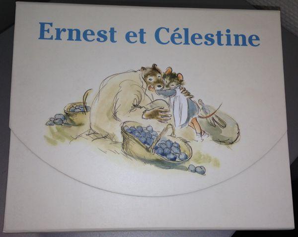 Ernest et Célestine coffret