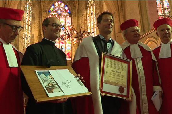 Le spationaute français Thomas Pesquet est l'invité d'honneur de la Jurade de Saint-Emilion ce week-end - 22 septembre 2019