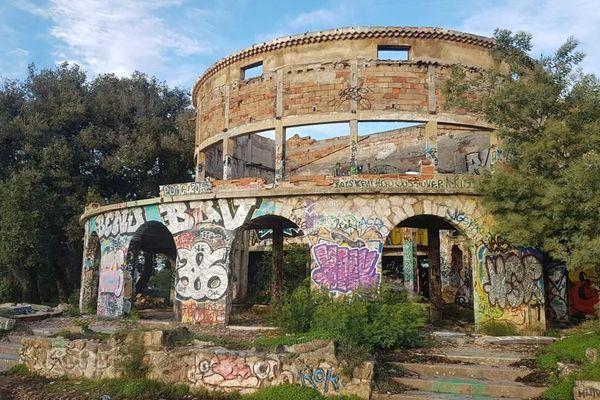 L'observatoire abandonné de la Californie à Cannes