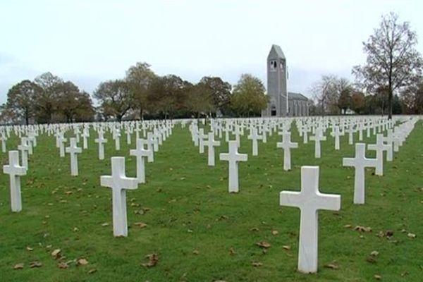 Le cimetière américain de Saint-James.